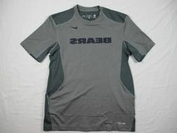NEW Nike Chicago Bears - Gray Dri-Fit Short Sleeve Shirt
