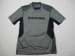 NEW Nike Chicago Bears - Gray/Navy Dri-Fit Short Sleeve Shir